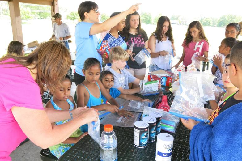 Lunches and VBS in the Park