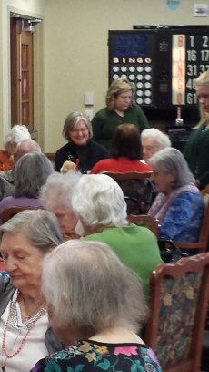 Hosting a Bingo Party at Montevue Assisted Living
