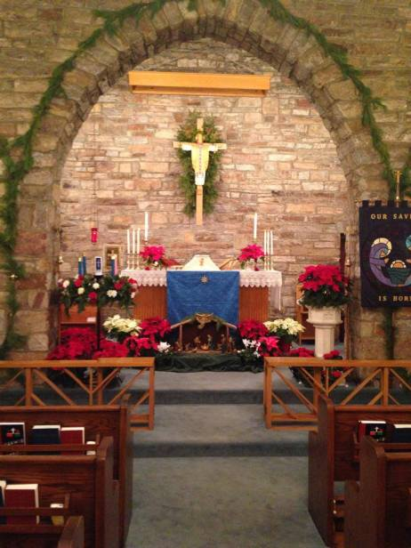 The Altar at Christmas