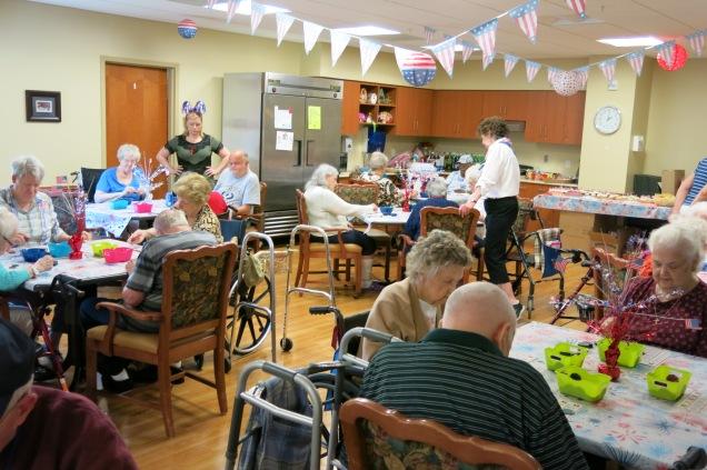 Bingo Party at Montevue