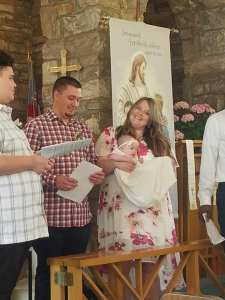 Emma and Bryce's Baptism